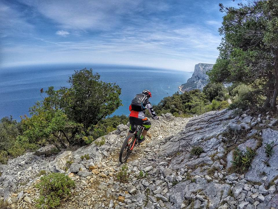 Excursions Mountain Bike MTB VTT en Sardaigne