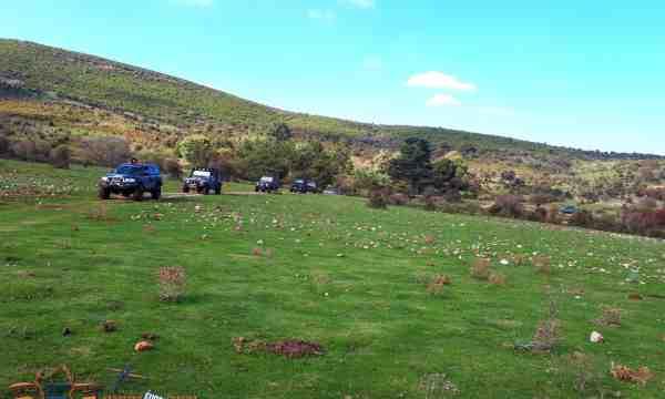 Land Rover tour Sardaigne 4x4