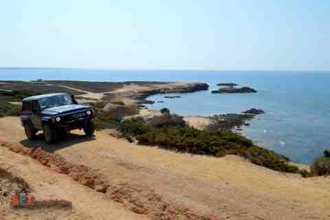 Excursions véhicules tout terrain Hors-Route 4x4 en Sardaigne.