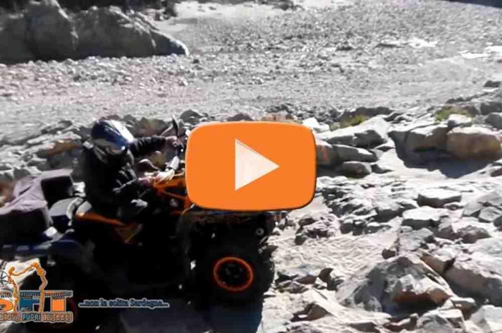 Aperçu vidéo en piste quad pour la belle Ogliastra