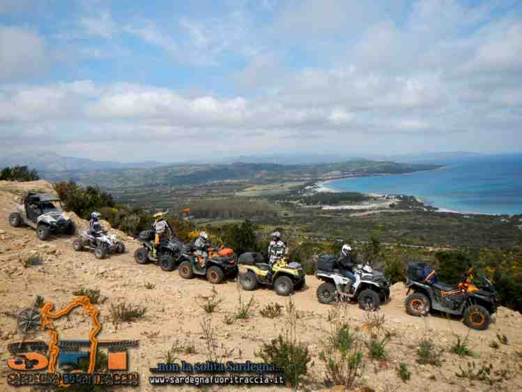 Capo Comino in quad