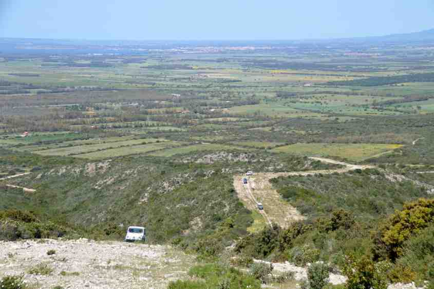 Route coupe-feu du Monte Arci